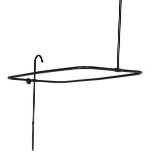 Elizabethan Classics ECSE2-ORB End Mount Shower Riser with Enclosure - Oil Rubbed Bronze