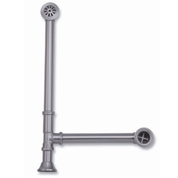 Elizabethan Classics LTD03CP Lift and Turn Tub Drain - Chrome (Pictured in Satin Nickel)
