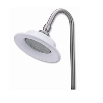 Elizabethan Classics SHSUNPB Sunflower Showerhead - Polished Brass (Pictured in Satin Nickel)