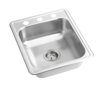 Elkay D1172-3 Dayton Sink - Stainless Steel (Three Holes)
