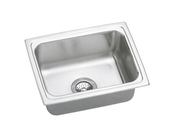 Elkay DLFR251910 Gourmet (Lustertone) Deep Single Bowl Stainless Steel Sink