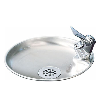 Elkay DRKR10C Countertop Drinking Fountain - Stainless Steel