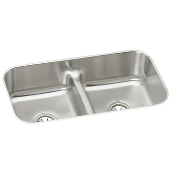 Elkay-EAQDUH3118-Gourmet-Double-Bowl-Undermount-Kitchen-Sink---Stainless-Steel