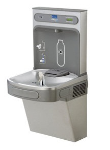 Elkay EZS8WSLK EZH2O Drinking Fountain and Bottle Filling Station with Glass Filler