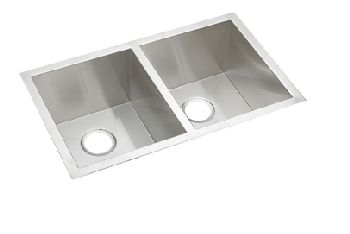Elkay EFU311810 Avado Deep Double Bowl Kitchen Sink - Stainless Steel