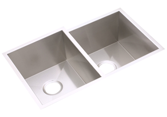 Elkay EFUR312010R Avado Undermount Deep Double Bowl Kitchen Sink - Stainless Steel