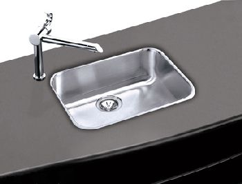 Elkay EGUH2115 Gourmet Single Bowl Sink - Stainless Steel (Pictured w/Faucet - Not Included)