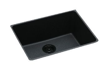 Elkay ELGU2522BQ Gourmet Undermount Kitchen Sink - Bisque (Pictured in Black)