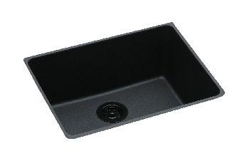Elkay Elgu2522bq Gourmet Undermount Kitchen Sink Bisque Pictured In Black Faucetdepot Com