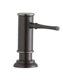 Elkay LK330CR Explore Collection Soap Dispenser - Chrome (Pictured in Antique Steel)