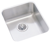 Elkay ELU1316 Gourmet (Lustertone) Undermount Single Bowl Bar Sink Stainless Steel