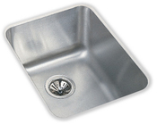 Elkay ELU1418-10 Gourmet Lustertone Undermount Single Bowl Bar Sink Stainless Steel