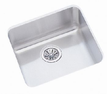 Elkay ELU1616 Gourmet Single Bowl Sink - Stainless Steel