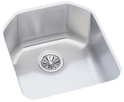 Elkay ELU1618 Harmony Lustertone Undermount Single Bowl Kitchen Sink Stainless Steel