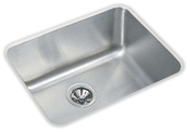 Elkay ELU2115-10 Gourmet (Lustertone) Deep Single Bowl Undermount Kitchen Sink - Stainless Steel
