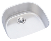 Elkay ELU2118-10 Harmony (Lustertone) Undermount Single Bowl Kitchen Sink Stainless Steel