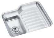 Elkay ELU2421L Harmony (Lustertone) Undermount Single Bowl Kitchen Sink Stainless Steel