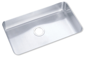 Elkay ELU2816 Gourmet Lustertone Undermount Single Bowl Kitchen Sink Stainless Steel