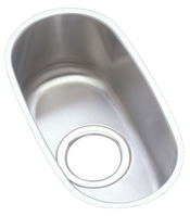 Elkay ELU714 Harmony (Lustertone) Undermount Single Bowl Bar Sink Stainless Steel