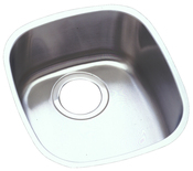 Elkay ELUH1113 Harmony (Lustertone) Undermount Single Bowl Kitchen Sink Stainless Steel