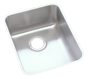 Elkay ELUH1418 Gourmet Lustertone Undermount Single Bowl Bar Sink Stainless Steel
