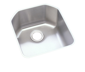 Elkay ELUH1618 Harmony (Lustertone) Undermount Single Bowl Kitchen Sink Stainless Steel