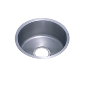 Elkay ELUH16FB Mystic Single-Bowl Undermount Bar Sink with Reveal - Stainless Steel