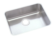 Elkay ELUH2115-10 Gourmet (Lustertone) Undermount Single Bowl Kitchen Sink - Stainless Steel
