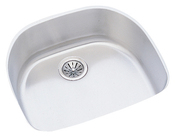 Elkay ELUH2118 Harmony Lustertone Undermount Single Bowl Kitchen Sink Stainless Steel