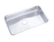 Elkay ELUH281610 Gourmet (Lustertone) Undermount Single Bowl Kitchen Sink - Stainless Steel