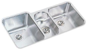 Elkay ELUH4020 Harmony (Lustertone) Undermount Sink - Stainless Steel