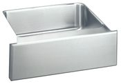 Elkay ELUHF2520 Gourmet (Lustertone) Undermount Single Bowl Kitchen Sink with Apron - Stainless Steel