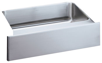 Elkay ELUHFS2816 Gourmet Undermount Single Bowl Stainless Steel Kitchen Sink with Apron