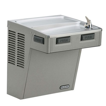 Elkay EMABF8S Wall Mount ADA Cooler - Stainless Steel (Pictured in Light Gray Granite)