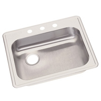 Elkay GE12521L Dayton Single Bowl Kitchen Sink - Stainless Steel