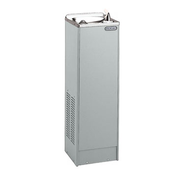Elkay LFDE10L1Z Filtered Space-Ette Floor Cooler - Light Gray Granite