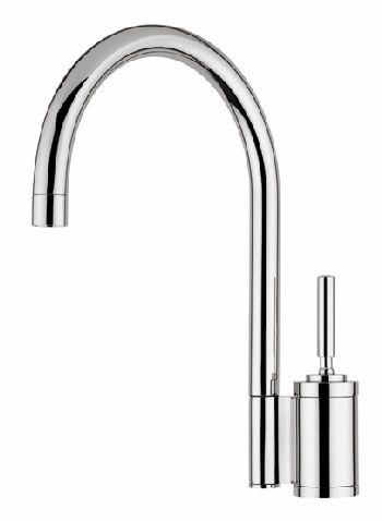 Elkay LK7422BC Arezzo Single Lever Kitchen Faucet - Brushed Chrome (Pictured in Chrome)