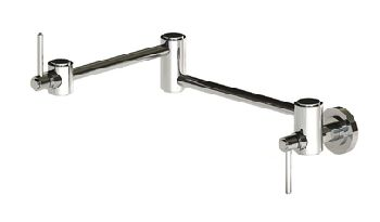 Elkay LK7757PSS Ella Wall Mount Pot Filler - Polished Stainless Steel