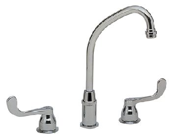 Elkay LKD2437BH Two Handle Bar Faucet - Chrome