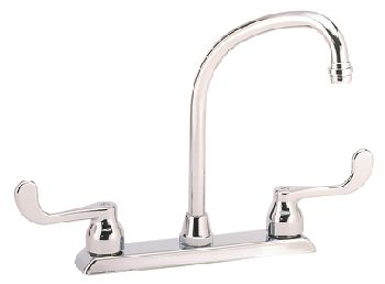 Elkay LKD2445BH Two Handle Kitchen Faucet - Chrome