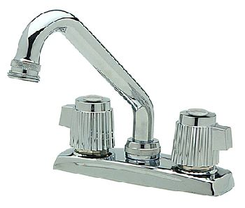 Elkay LKD2490BH Two Handle Laundry Faucet - Chrome