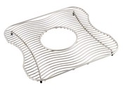 Elkay LKWBG1316SS Wavy Wire Bottom Grid - Stainless Steel