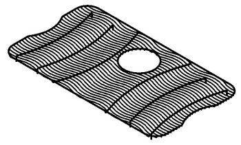 Merveilleux Elkay LKWOBG2816SS Bottom Sink Grid   Stainless Steel