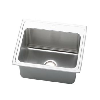 Elkay PLA252212 Pursuit Deep Indoor Sink - Stainless Steel