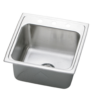 Elkay POD191910 Pursuit Outdoor Deep Single Bowl Sink - Stainless Steel