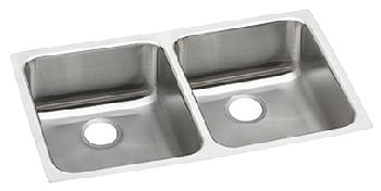 Elkay PODUH3118 Pursuit Outdoor Double Bowl Sink - Stainless Steel