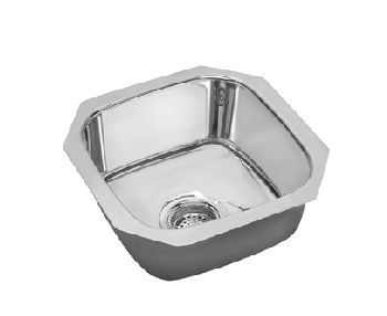 Elkay SCUH1212SM Gourmet Single Bowl Bar Sink - Stainless Steel Mirror Finish