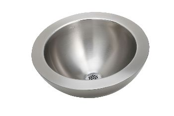 Elkay VESSEL16SSS Asana Vessel Lavatory Sink with Lustrous Satin Finish Ledge