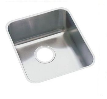 Elkay ELUHAD161655 Gourmet (Lusterone) Single Bowl Undermount Sink - Stainless Steel