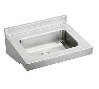 Stainless Wall Mount Sink : Elkay ELVWO2219 Lavatory Wall Mount Sink - Stainless Steel ...